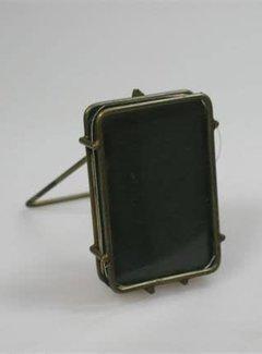Zisensa, private collection Unieke woonaccessoires Fotolijst draad metaal 10 x 7,5 cm.