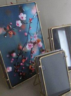 Zisensa, private collection Set van 3  Fotolijst draad metaal