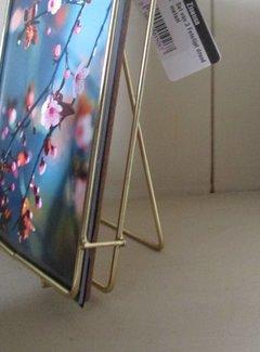 Zisensa, private collection Unieke woonaccessoires Fotolijst draad metaal 15 x 10,5 cm