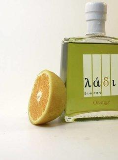 Ladi Biosas; Griekse streekprodukten Griekse Olijfolie & Orange  Agrumato 250 ml.