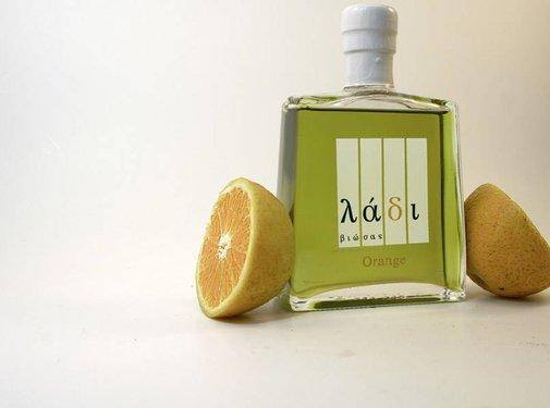 Ladi Biosas; Griekse streekprodukten Copy of Agrumato Olijfolie & Lemon 250 ml.
