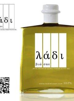 Ladi Biosas; Griekse streekprodukten Olijfolie, Griekse Extra virgin biologische 250ml.