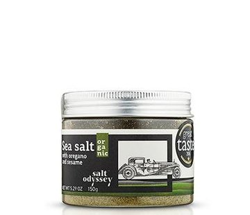 Greek Artisan Salt Odyssey met oregano en sesam