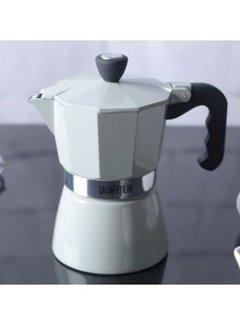 La Cafetiere; Cafetieres & Espressomakers Classic Espressomaker 3 kops pistache/mint groen
