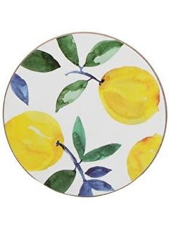 Creative Tops; Engelse Kwaliteitsprodukten Set van 4 onderzetters citroen, lemon