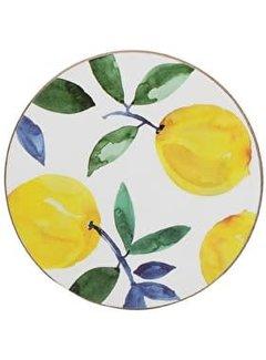 Creative Tops Set van 4 onderzetters citroen, lemon
