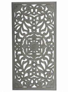 Couronne Copy of Wandpaneel Casafiori vierkant groot donker grijs