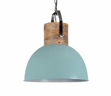 Couronne Industriele Hanglamp Fabriano vintage green 30 cm.