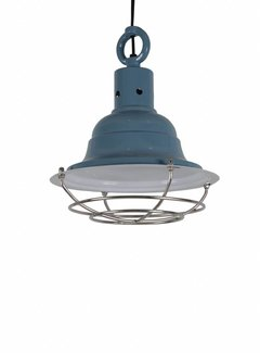 Couronne Hanglamp Goccia klein vintage blue  702