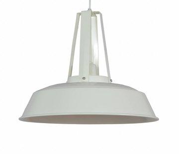 Couronne Hanglamp Industria 34 cm glans creme  703