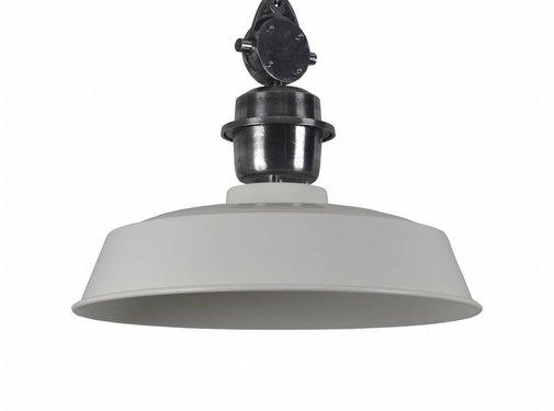 Couronne Hanglamp metaal SESTO 42 cm creme/wit 704