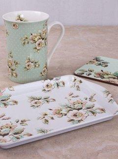 Katie Alice Cottage Flower; Compleet Vintage Servies met bloemen cadeauset - Gebloemde mok