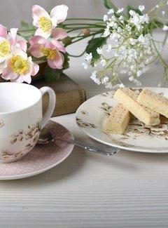 Katie Alice Cottage Flower Ontbijtset kop,schotel & ontbijtbord