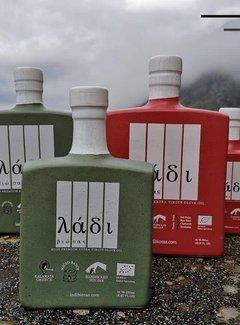 Ladi Biosas; Griekse streekprodukten Griekse olijfolie keramische groene fles Ltd. 250ml