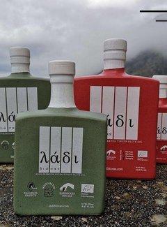 Ladi Biosas Griekse olijfolie keramische groene fles Ltd. 700ml