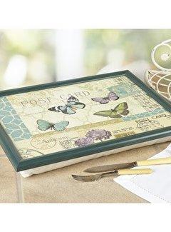 KitchenCraft; Engelse Kwaliteitsprodukten Laptray premium Postcard; vlinders