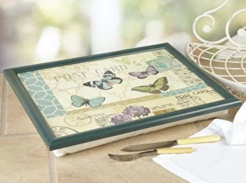 KitchenCraft; Engelse Kwaliteitsprodukten Copy of Laptray premium Klaprozen