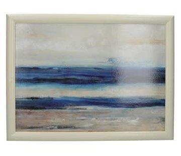 Creative Tops; Engelse Kwaliteitsprodukten Laptray premium Blauw abstract -zee-