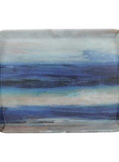 Creative Tops Dienblad Premium Abstract blauw- zee