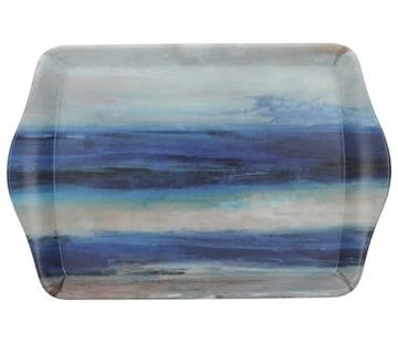 KitchenCraft; Engelse Kwaliteitsprodukten Dienblad Premium Abstract blauw- zee