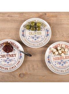 Creative Tops; Engelse Kwaliteitsprodukten Gourmet Cheese Set van 3 serveerschaaltjes
