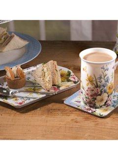 Katie Alice English Garden; Compleet Engels Porseleinen servies met bloemen Cadeauset Katie Alice gebloemde mok