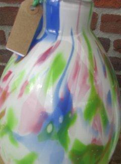 Fidrio Vazen Fidrio Glass Vaas Mio Pastel -L-