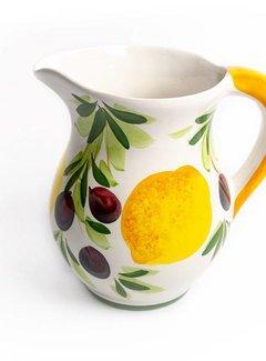 Zisensa, private collection Kan citroen/olijf