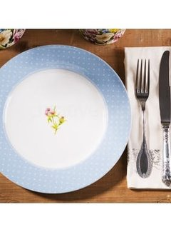 Katie Alice English Garden; Compleet Engels Porseleinen servies met bloemen Dinerbord