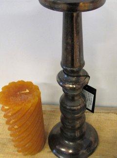 Diga by Colmore Kandelaar raw gun metal 34 cm