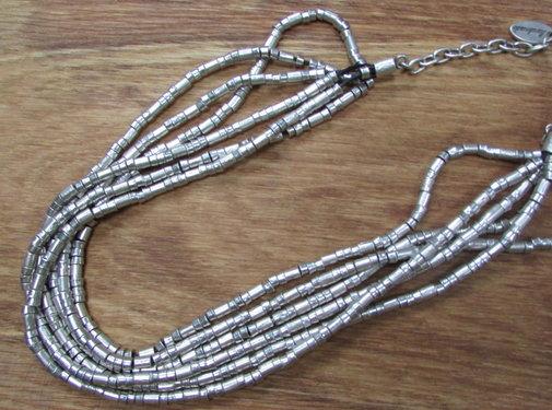 HeviHandmade; Zilveren sieradenlijn Halsketting Hevi