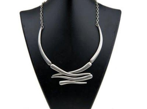 HeviHandmade; Zilveren sieradenlijn Copy of Halsketting Hevi Six rows