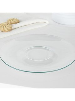 KitchenCraft; Engelse Kwaliteitsprodukten Randwyck Sonja schotel - glas per 6 stuks