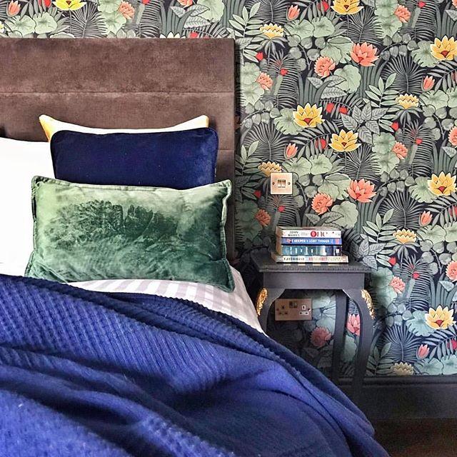 slaapkamer met kleur
