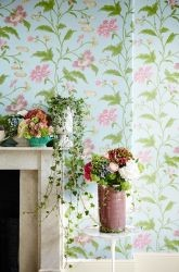 behang bloemen little greene