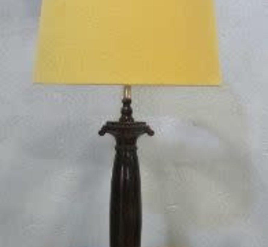 Lampenvoet klassiek bruin/brons