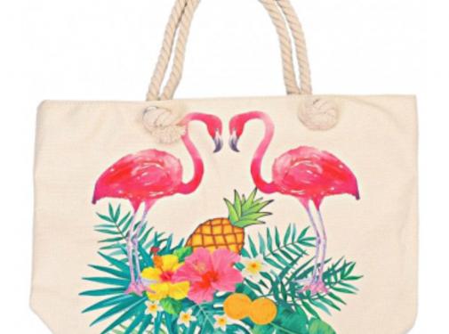 Zisensa, private collection Strandtas Flamingo