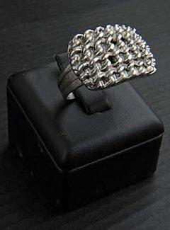 HeviHandmade; Zilveren sieradenlijn Zilveren Ring vlechtwerk