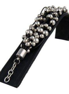 HeviHandmade; Zilveren sieradenlijn armband Silverdrops
