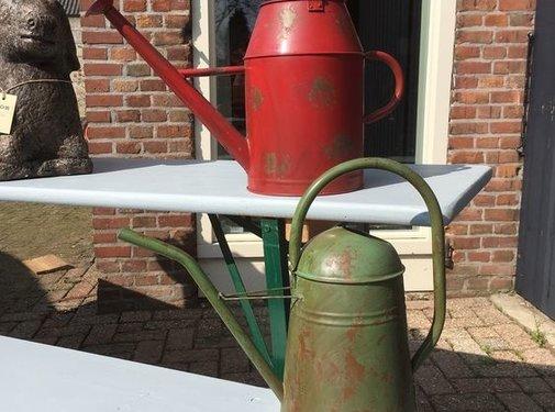 Esschert design Copy of Vintage gieter staal, groen