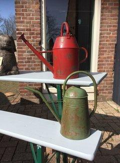 Esschert design Vintage gieter staal, groen