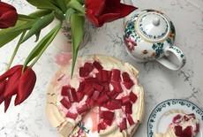 Pavlova Taart voor Moederdag