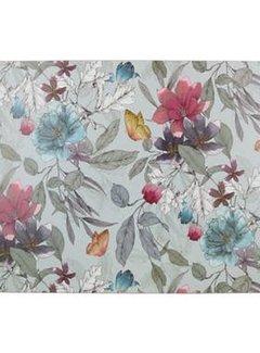 Zisensa, private collection Unieke woonaccessoires Placemats vlinder & bloem set van 4