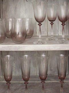 Katie Alice The Collection Katie Alice Geslepen waterglas, set van 4 stuks