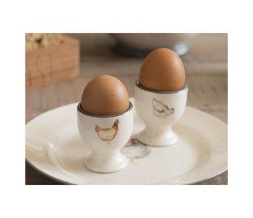 Creative Tops; Engelse Kwaliteitsprodukten Feather Lane Set van 2 eierdopjes