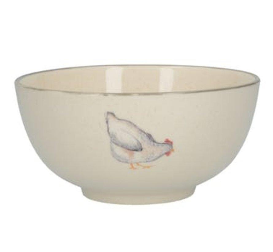 Feather Lane bowl, kom met kip