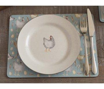 Creative Tops; Engelse Kwaliteitsprodukten Feather Lane ontbijtbord met kip