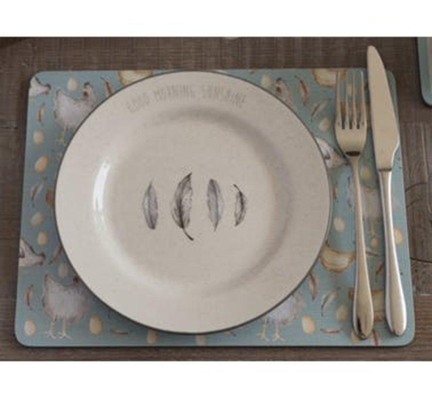 Copy of Feather Lane ontbijtbord met kip