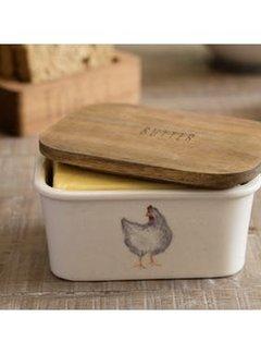 Creative Tops; Engelse Kwaliteitsprodukten Feather Lane botervloot met kip