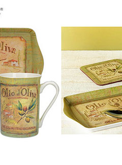 Creative Tops; Engelse Kwaliteitsprodukten Kadoset Olio d'Olivia